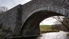 restored stone bridge