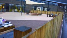 Playground area of primary school